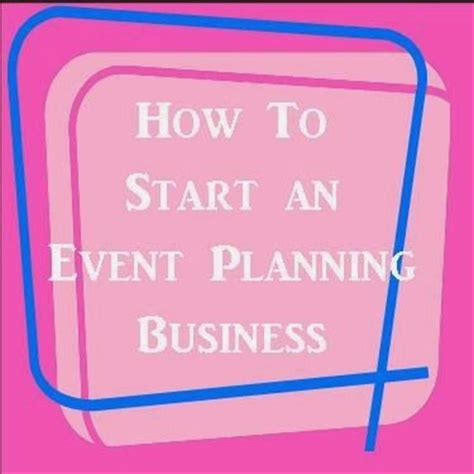 Start a party planning business